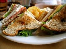 индюк сандвича blt Стоковая Фотография