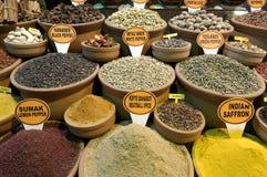 индюк специи рынка istanbul Стоковые Изображения