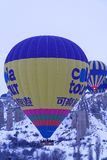 индюк cappadocia ballons воздуха горячий Стоковое фото RF