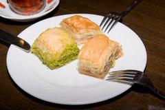 индюк istanbul десерта бахлавы традиционный Стоковые Фото