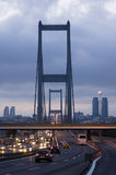индюк istanbul моста bosporus стоковые изображения