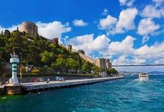 индюк rumeli istanbul крепости стоковые изображения