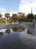 индюк sophia istanbul hagia Стоковое фото RF