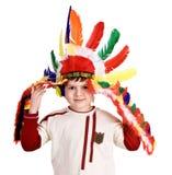 инец потехи costume мальчика Стоковые Изображения RF