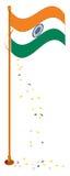 инец флага Стоковая Фотография