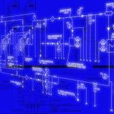 инженерня проектирование Стоковое Изображение RF