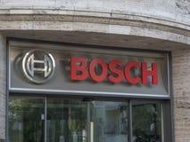 Инженерство и компания по продаже электроники Bosch Стоковое Изображение RF