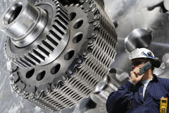 Инженерство и машинное оборудование стоковые изображения