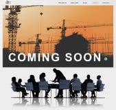 Инженерство строительной конструкции восстанавливает концепцию места Стоковое фото RF