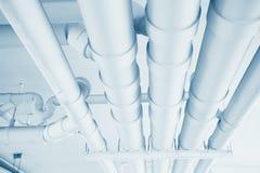 Инженерство трубы водопровода, чистая линия моча транспортная система Стоковое Фото