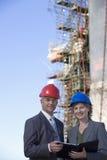 инженеры грузя 2 Стоковое Фото
