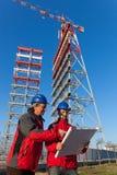 Инженеры на работе стоковая фотография rf