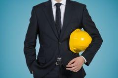 Инженер бизнесмена Стоковая Фотография