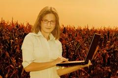 инженер земледелия Стоковая Фотография