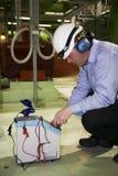 инженер клетки калибратора сухой Стоковые Фото