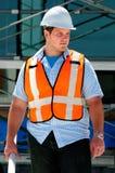 инженер по строительству и монтажу стоковое изображение rf