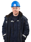 Портрет инженера Стоковые Фото