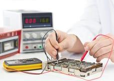 Инженер электроники Стоковая Фотография RF