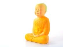 линии Будды предпосылки артефакта чистые metal просто белизна статуи Стоковые Изображения RF