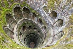Инициализация хорошо на Quinta da Regaleira sintra Португалии Стоковое Изображение RF