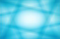 линия абстрактной предпосылки голубая Стоковая Фотография