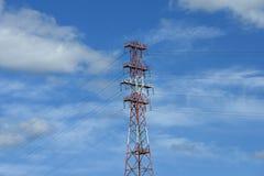 линия башня силы Стоковая Фотография