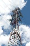 линия башня силы Стоковая Фотография RF