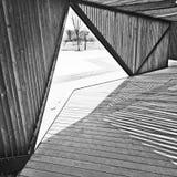 линия конструкция Стоковая Фотография RF