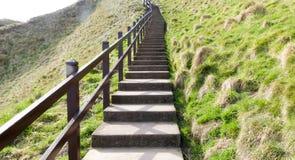 длинний stairway Стоковое Фото