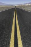 длинный путь пустыни Стоковые Фотографии RF
