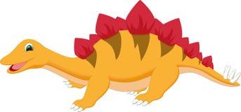 динозавр шаржа милый Стоковое фото RF