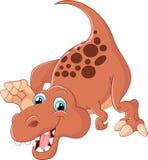 динозавр шаржа милый Стоковое Изображение