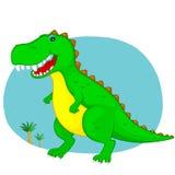 динозавр Иллюстрация штока