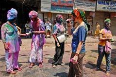 иноплеменники Индия Стоковое Изображение