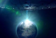 Инопланетянин стоковое фото rf