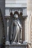 Иносказания, синагога, собор Нотр-Дам, Париж Стоковые Фотографии RF
