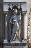 Иносказания, церковь, собор Нотр-Дам, Париж Стоковое Изображение