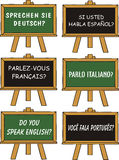 иностранный язык образования Стоковые Фотографии RF
