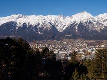 Инсбрук и Альп стоковая фотография rf