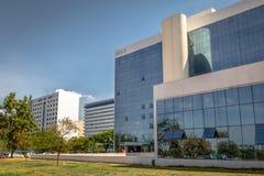 Институт социального обеспечения - Instituto Nacional сделайте Social Seguro или Social Previdencia - INSS - Brasilia, Distrito ф стоковая фотография