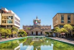 Институт Cabanas Cabanas Hospicio культурный - Гвадалахара, Халиско, Мексика Стоковое Фото