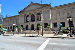 институт chicago искусства Стоковая Фотография