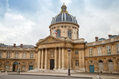 Институт de Франция в Париже, Франции Стоковые Фото
