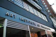 институт philadelphia искусства Стоковая Фотография