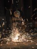 Инструментальный металл работника стоковое фото