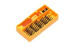 Инструментальный ящик отвертки Стоковые Фотографии RF