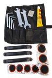 инструменты аварийной ситуации велосипеда Стоковое Изображение RF