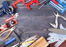Инструменты дальше Стоковое Изображение RF