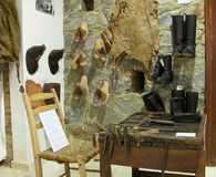 инструменты ботинка создателя Стоковая Фотография RF