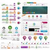 Инструменты вебсайта маркетинга для онлайн дела Стоковая Фотография RF